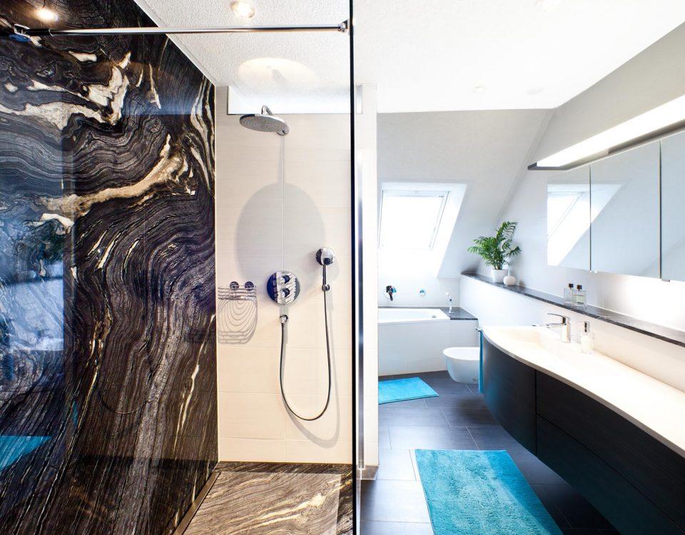 Referenzen b hm naturstein - Marmor badezimmer ...